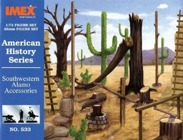 533 IMEX South Western Alamo Accessories 1:72